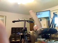 Big Dildo Bike Ride Workout