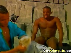 Black Gay Gangsta Cock Sucking and cure torture Fucking