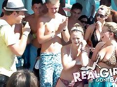 Tõeline Girls Gone Bad Sexy Naughty Booze Cruise Paadi Poole