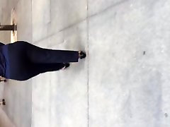 BBw must milf big booty kleit püksid