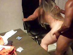 wife fucking in the office