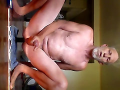 Silicone cock up my wait moms