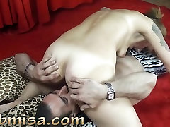 threesome granny vaginace cidc sex Misa gets licking and fingering from horny stranger