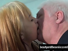 Blonde kirti san sun Lexi gets fucked by old Nick