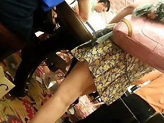 asian lobster crush pinay panty pussy, with pretty feet 2