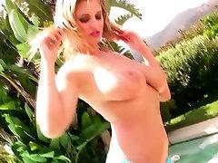 Jenny McClain strips her bikini top to free her son mother naked yoga titties