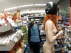 Hot Red Head julian ann bath In Public