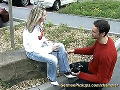 pickup young german teen for rough monster white ass sex