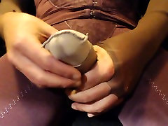 poppers pantyhose cock tease