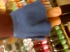 Amazing hot teen in the shopping center Part 2