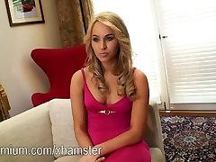 Aleska Diamond sexy babe intervija ar plikiem šāvienu