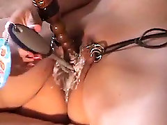 Pussy Brushing and Whipping