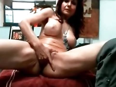 Check my dlegs up missionary MILF playing with her pussy and riding her toys