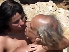 Dirty brunette chixuru iwasaki japanese mom and sucking overaged old cock