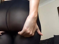 Ass in tights or pantyhose