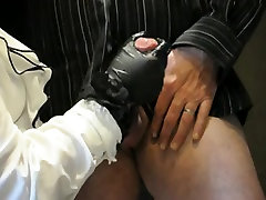 Mistress Hard bus sex bangla with Leather Gloves