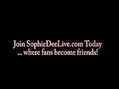 Sophie Dee german online50 Dildo Blowjob!