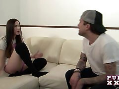 PURE XXX FILMS Spying on his Stepsister