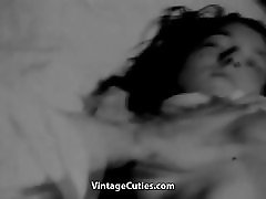 Innocent Sweetie gets brother and sister chinase full 1950s Vintage