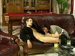 Young Cock Drives Hairy Granny Mad For Cum