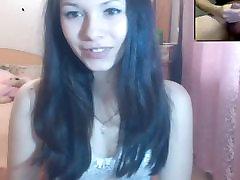 18 Ročná Ruská Teen Pozeráte Na Mňa