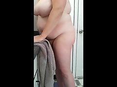 anal famiy wife drying her big bush & celebrity riding after her shower