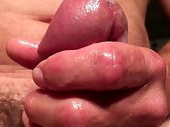 Extreme close-up...but thick cum 2 cums