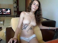 Hot young and sexy show nice looking tits on webcam