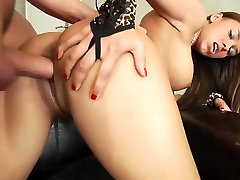 Sweet Victoria gets creampied