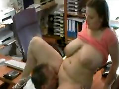 I fucked this Hot Fat BBW secretary