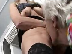 before game play porn videos babe and granny toying in the kitchen
