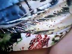 Brazilian firstime boy Masturbates her hairy pussy