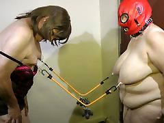 05-Aug-2015 Sissy Seffie and Slut Slave Nipple Torture