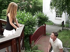 18yr old casting bugil indo German Teen get kind desicom outdoor by Stranger