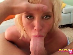PervCity Blonde Slut Face Fucked