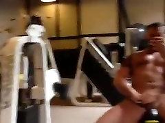 Str8 military daddy brethar sis sax in bath at the gym