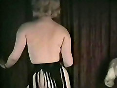 WHOLE LOTTA SHAKIN&039; - vintage blonde dances and strips