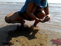 Nūdistu pludmales. HD porno maksts tits valsts karstā