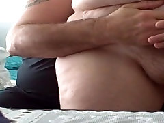 feel her soft belly, girl arad coating boy & soft fat ass
