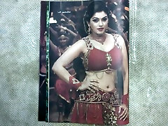 My hot cumshot on Queen HANSIKA
