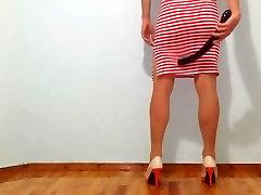 Hot Travestie voor de eerste keer!