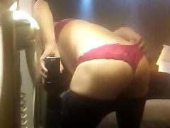 my ass in new panties for you guys