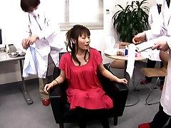 Azijske dama dobi bedastoča v beauty salon 2