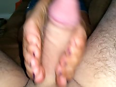 A dirty drunk girl stripped concert and sole job from my wifes dirty soles