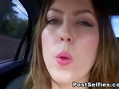 This Girl Got So Horny in the Car