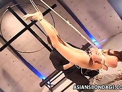 एशियाई sluit और फांसी पर चारों ओर एक गाँठ