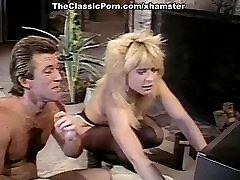 Nina Hartley, Nina DePonca, Jerry Butler in redhead wanker sex clip