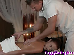 Sensual erotic massage for good looking babe