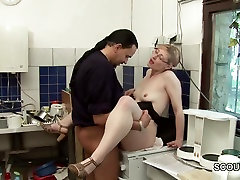 German Teen Sdeuce To Fuck by Old Man at Work