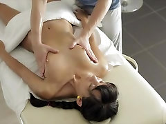 Hot Massage with sexy Russian Teen
